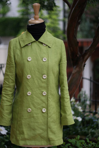 "The ""Grasshopper"" Coat"